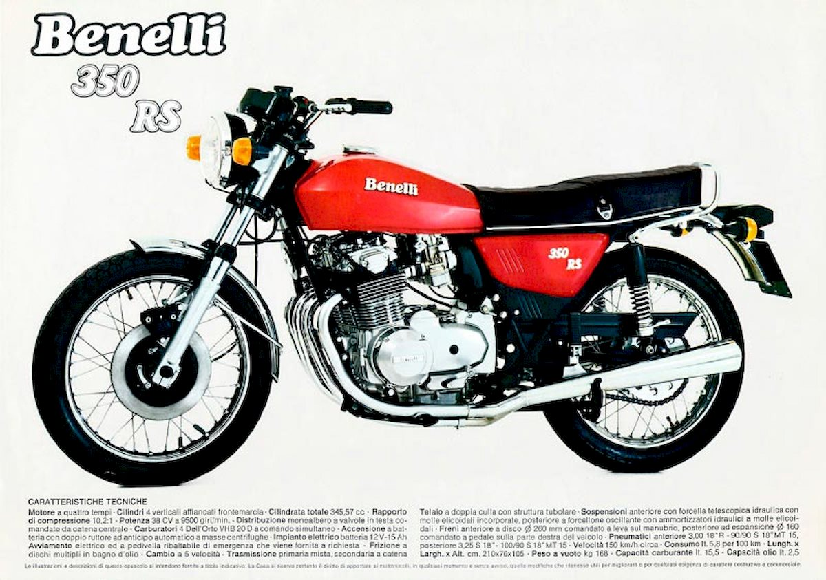 Image of BENELLI 350 RS