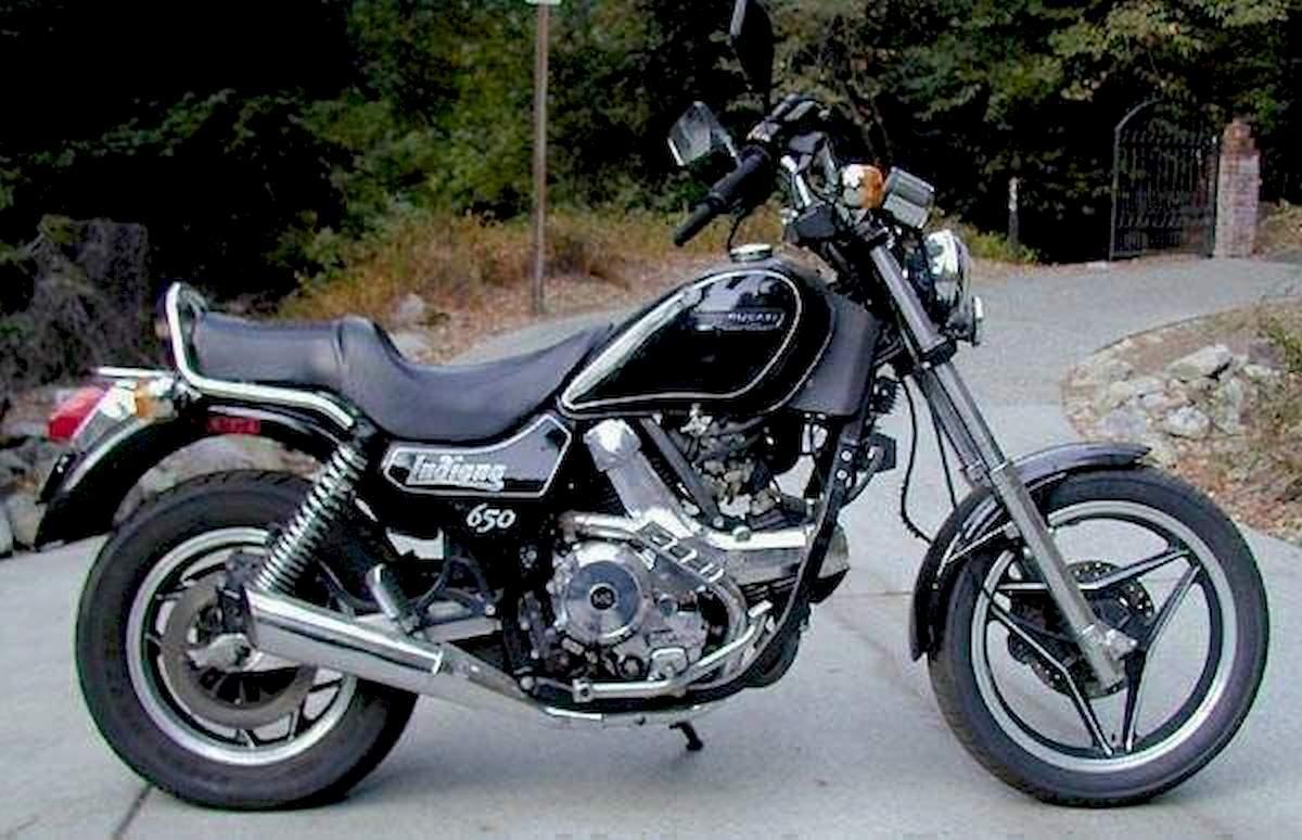 Image of DUCATI 650 INDIANA
