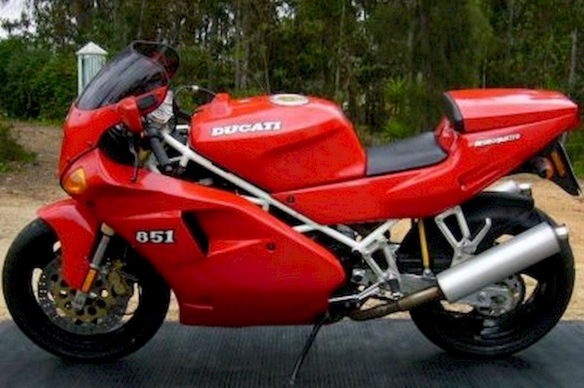 Image of DUCATI 851 S3 STRADA