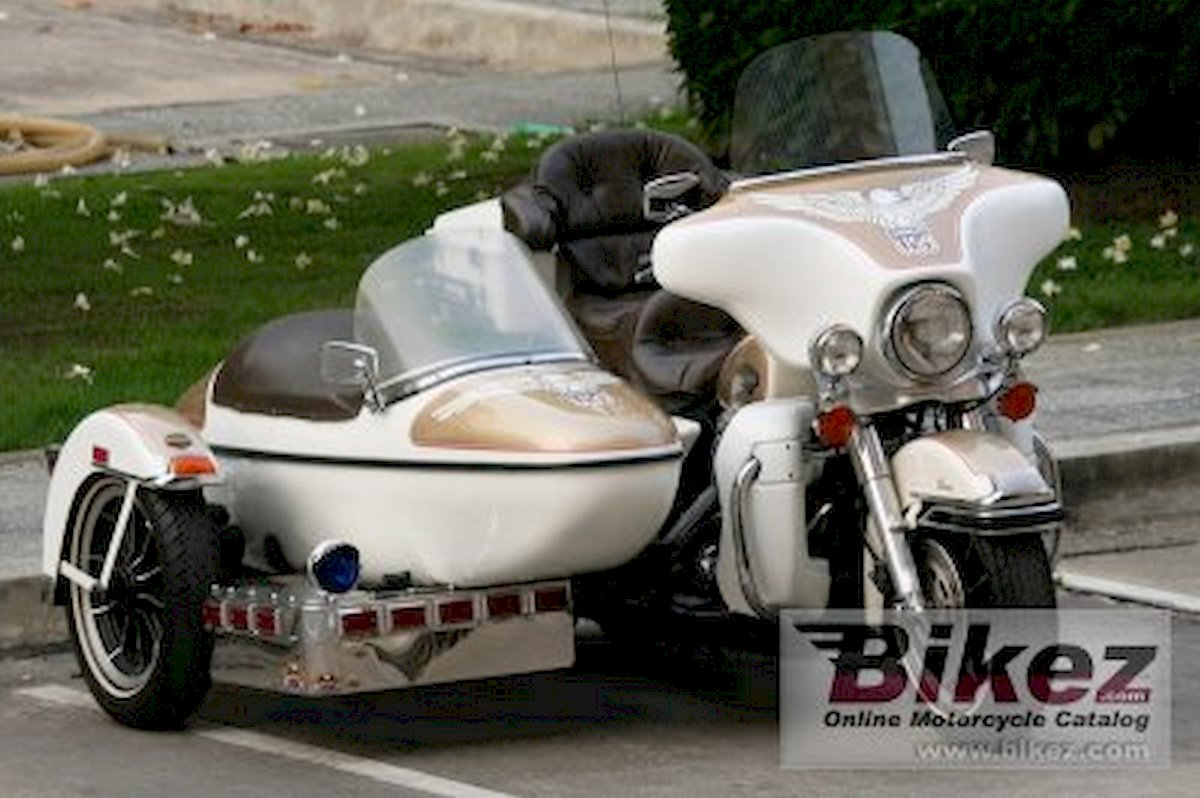 Image of HARLEY DAVIDSON FLHTC 1340 (WITH SIDECAR)
