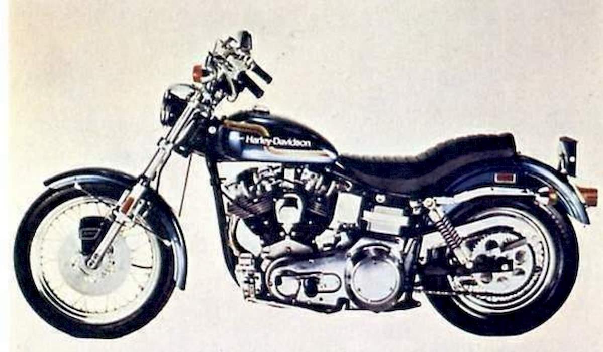 Image of HARLEY DAVIDSON FXE 1200 SUPER GLIDE