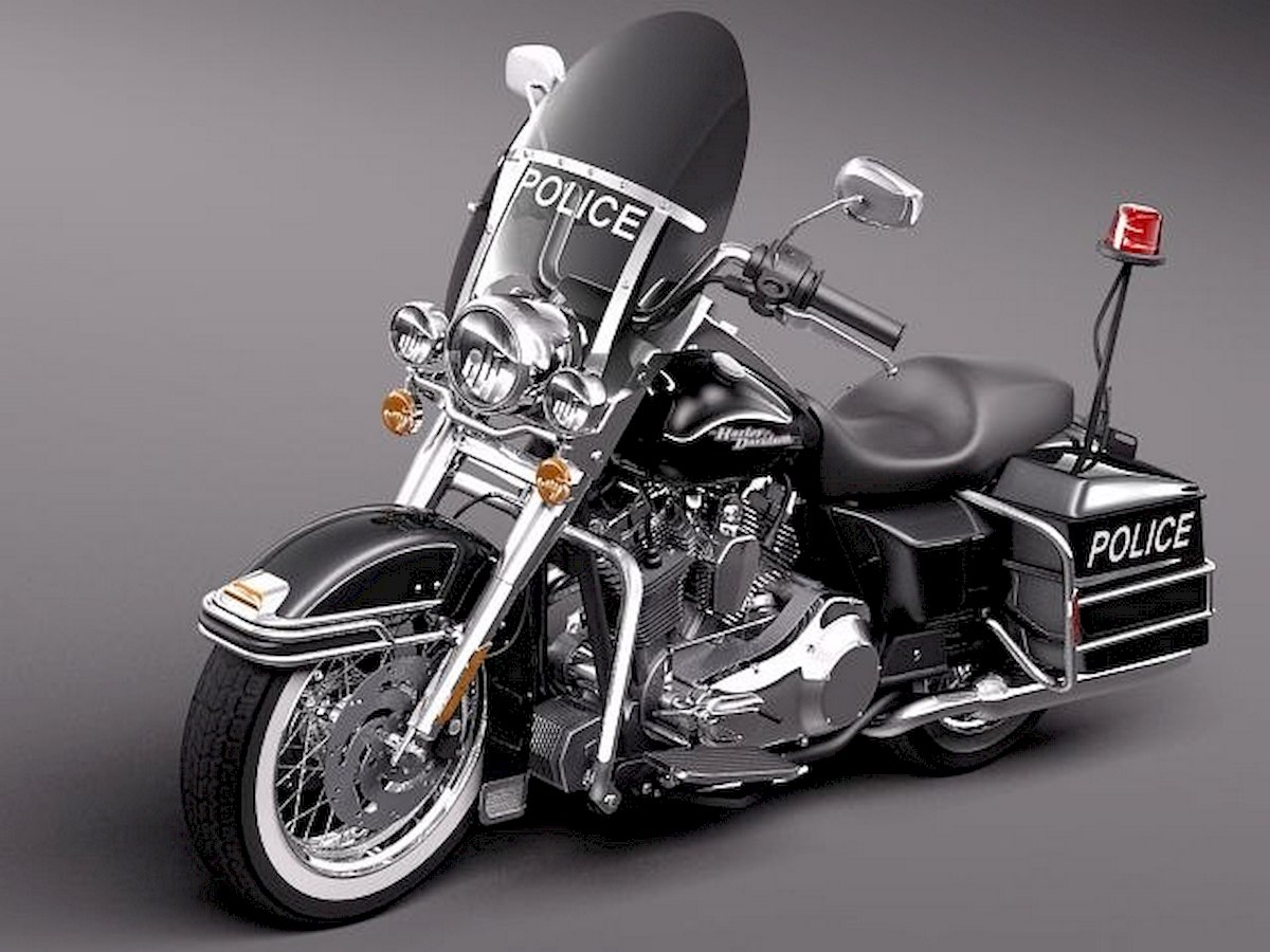 Image of HARLEY DAVIDSON ROAD KING POLICE