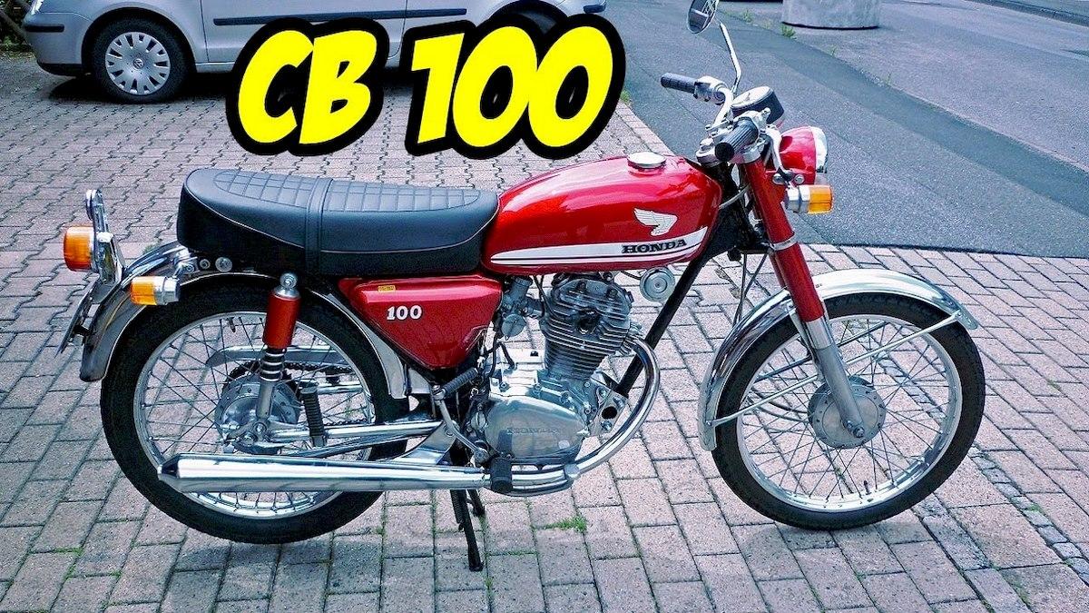 Image of HONDA CB 100