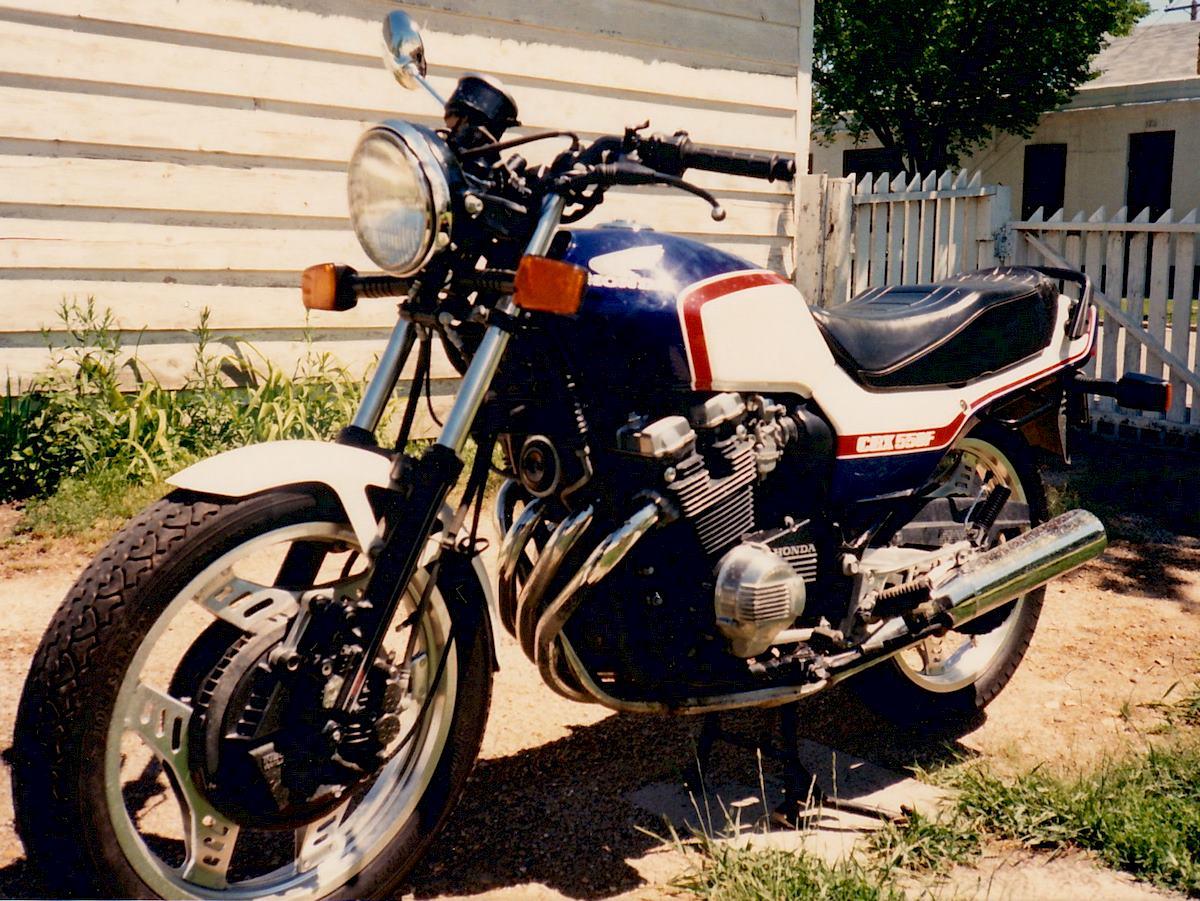 Image of HONDA CBX 550