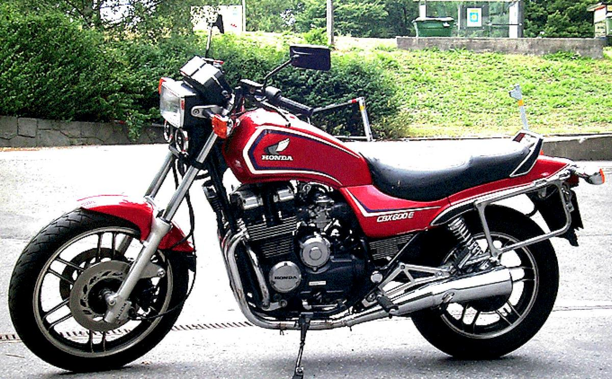 Image of HONDA CBX 600