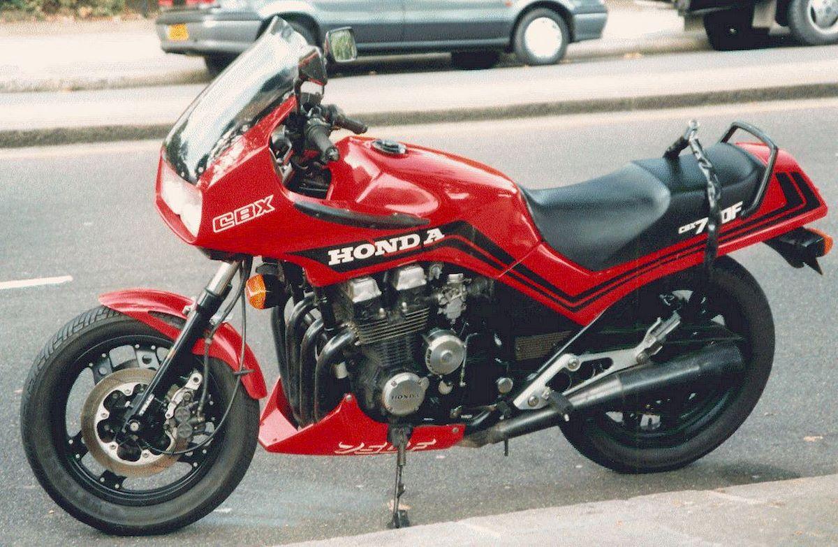 Image of HONDA CBX 750