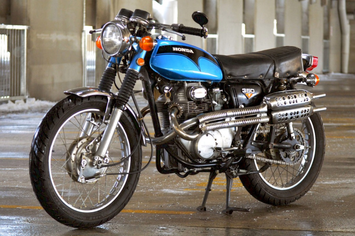 Image of HONDA CL 350
