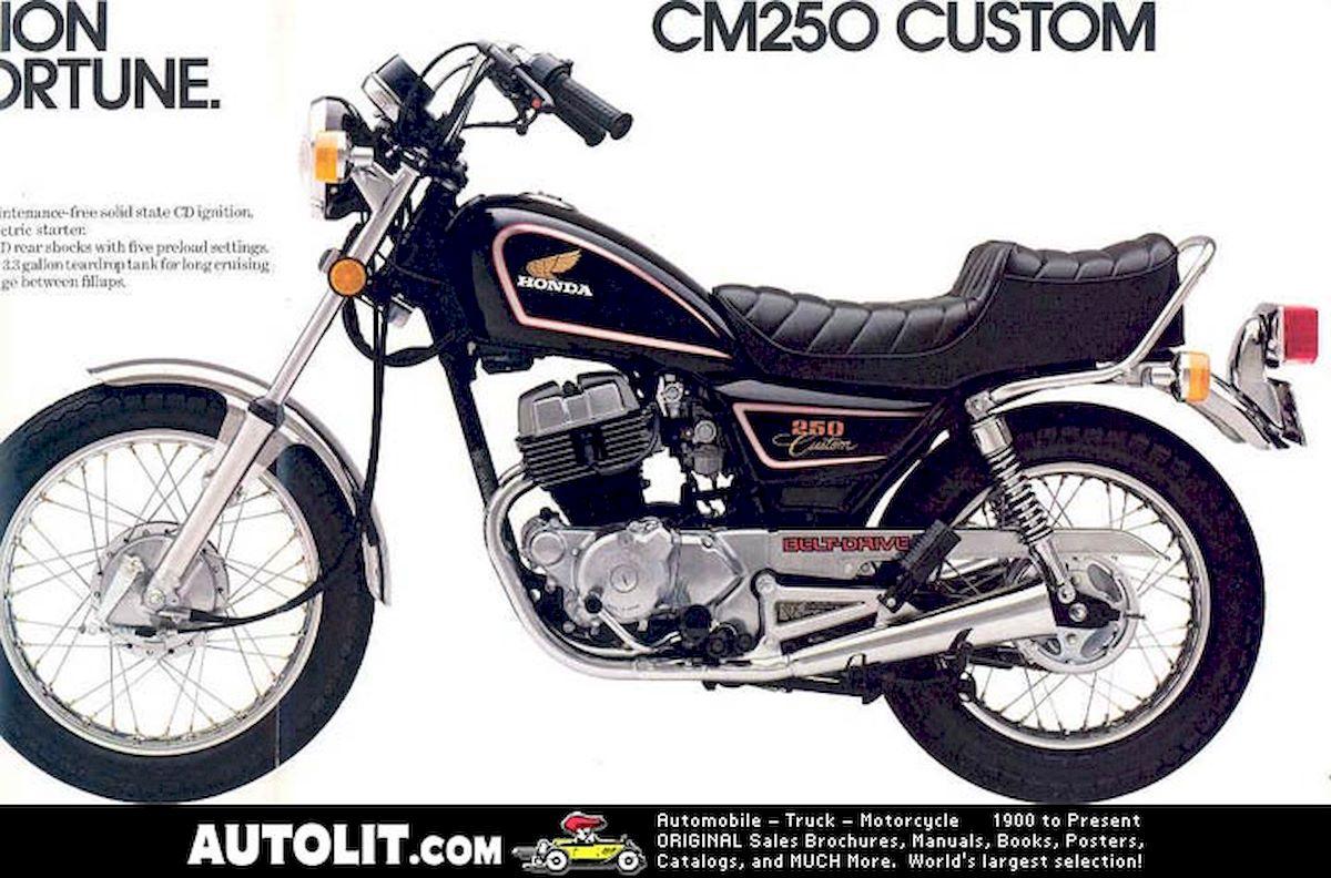 Image of HONDA CM 250