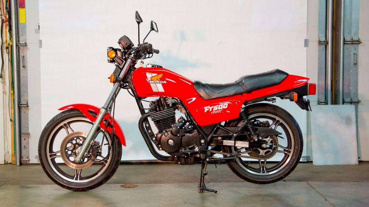 Image of HONDA FT 500