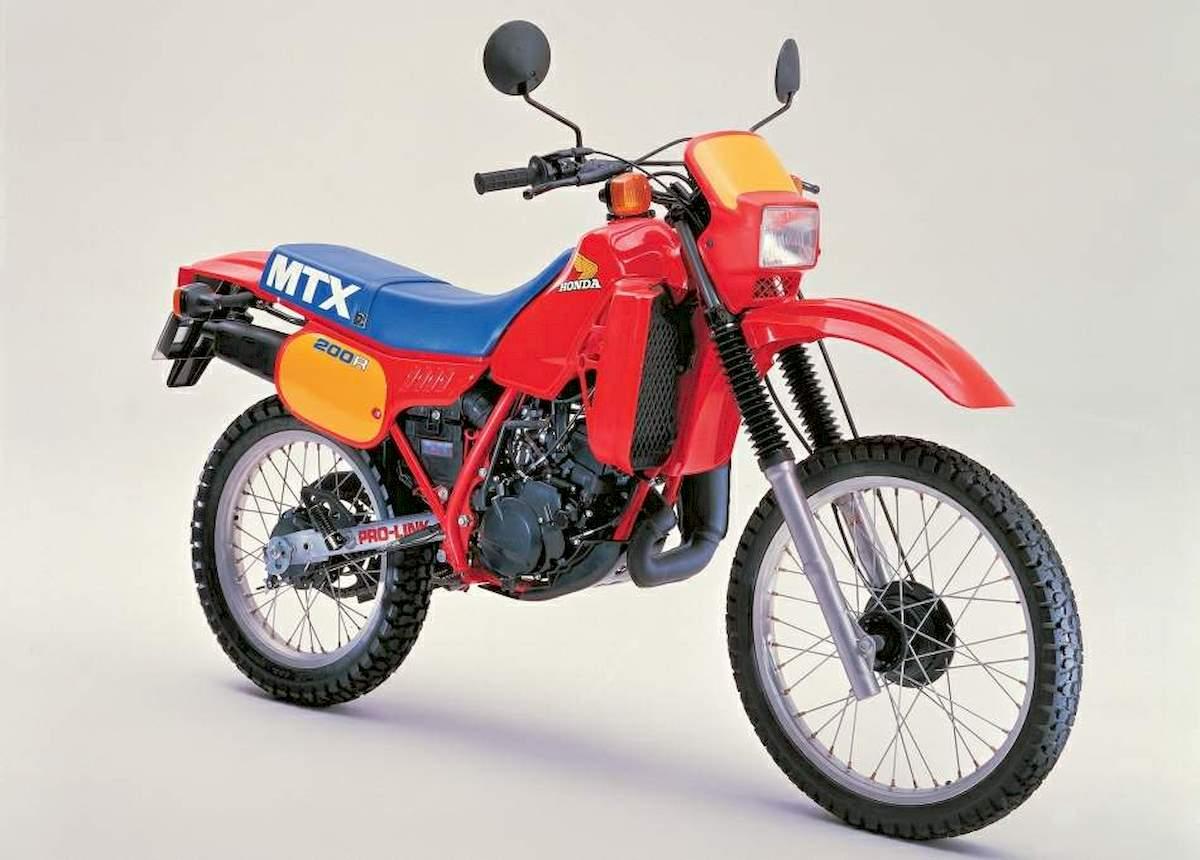 Image of HONDA MTX 200