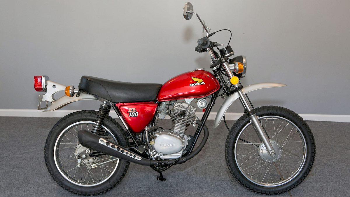 Image of HONDA XL 100