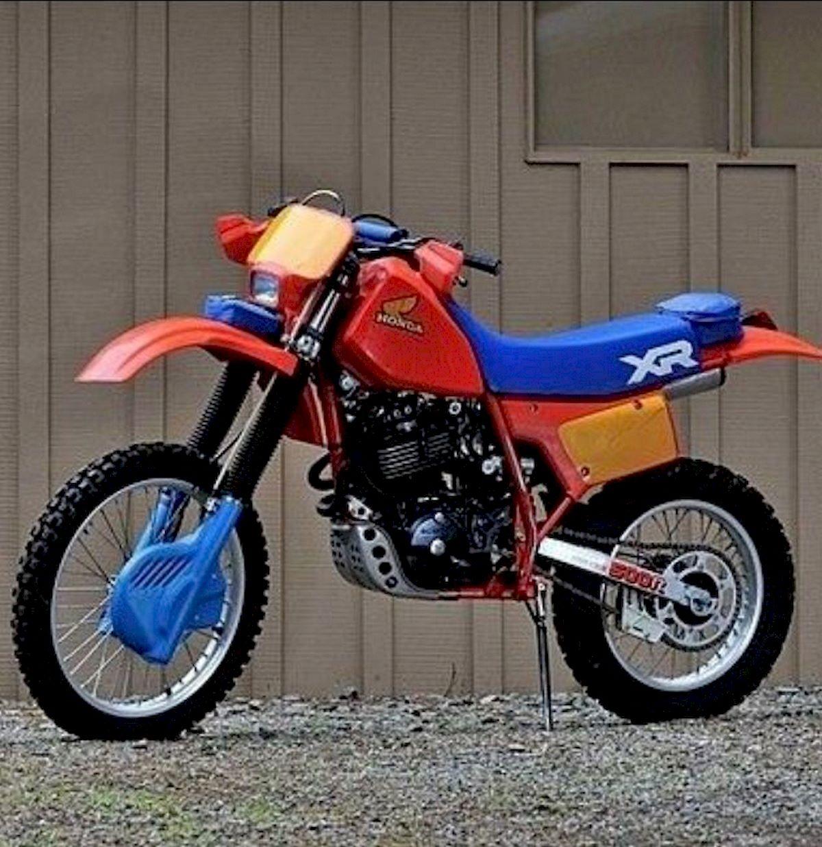 Image of HONDA XR 500