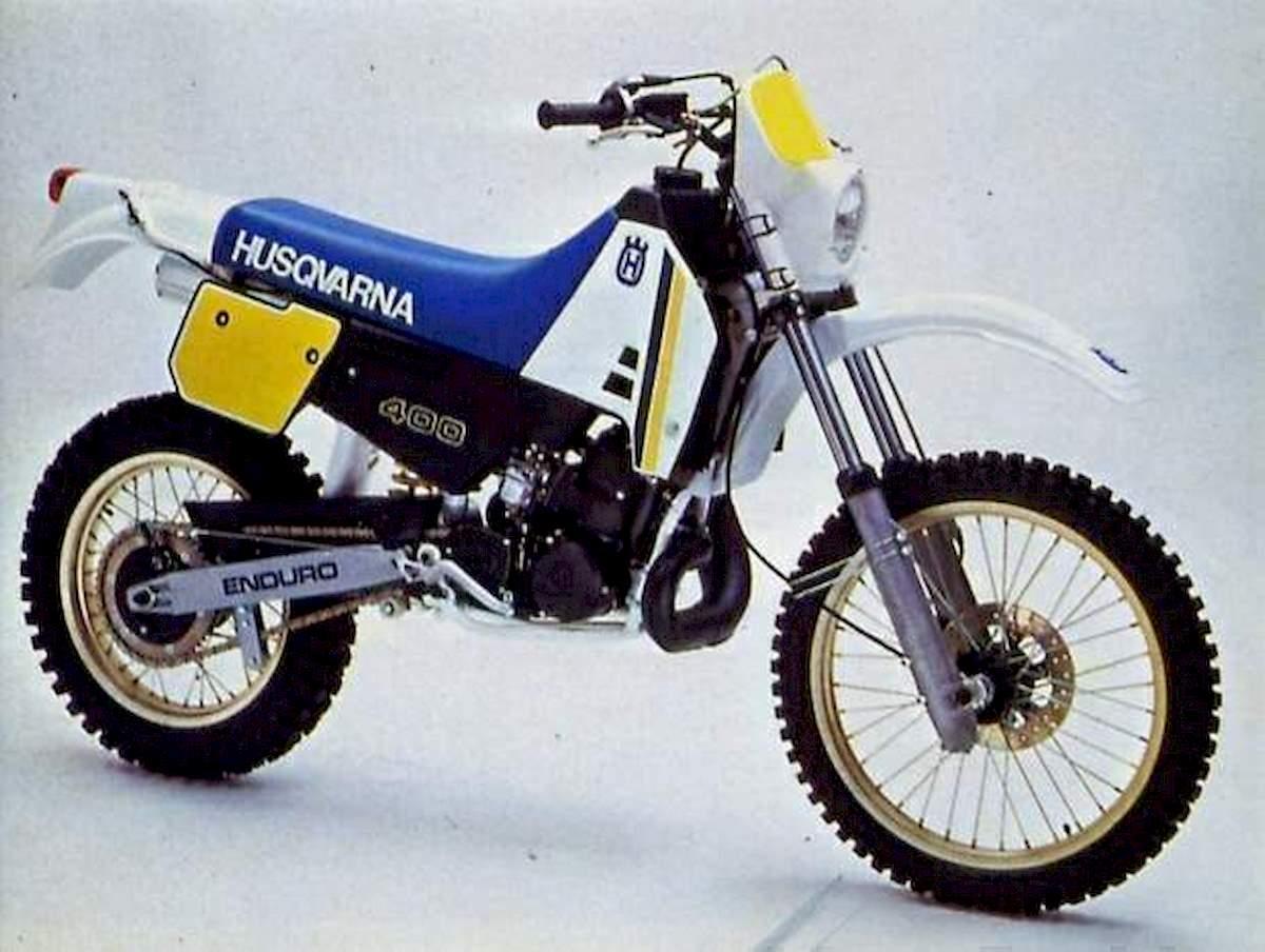 Image of HUSQVARNA WR 400