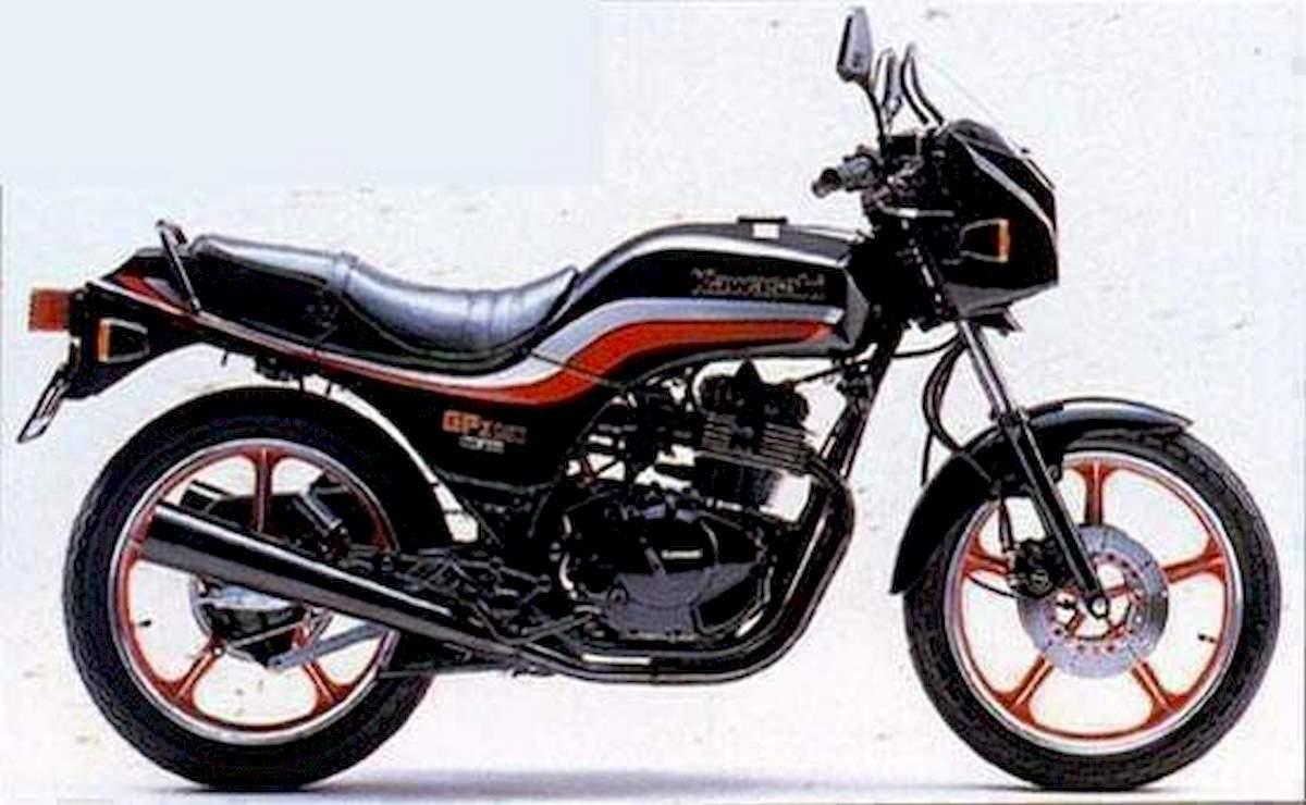 Image of KAWASAKI GPZ 250