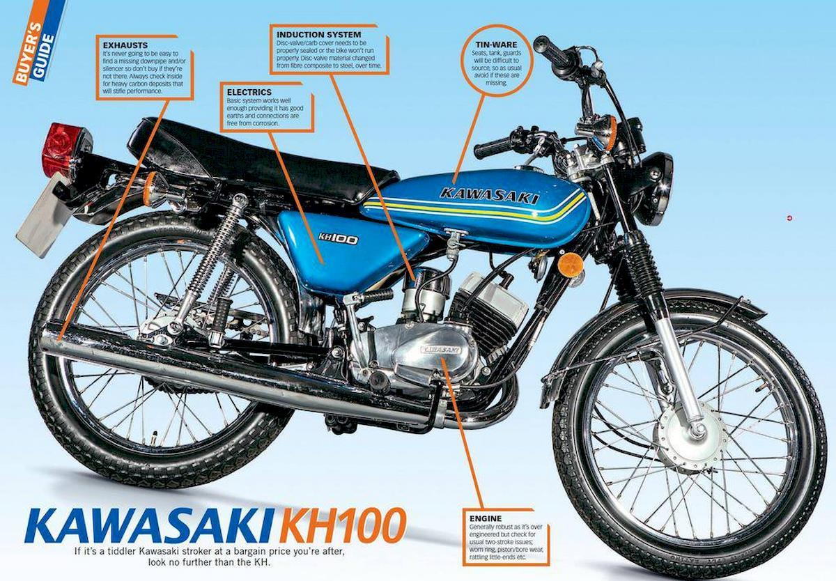 Image of KAWASAKI KH 100