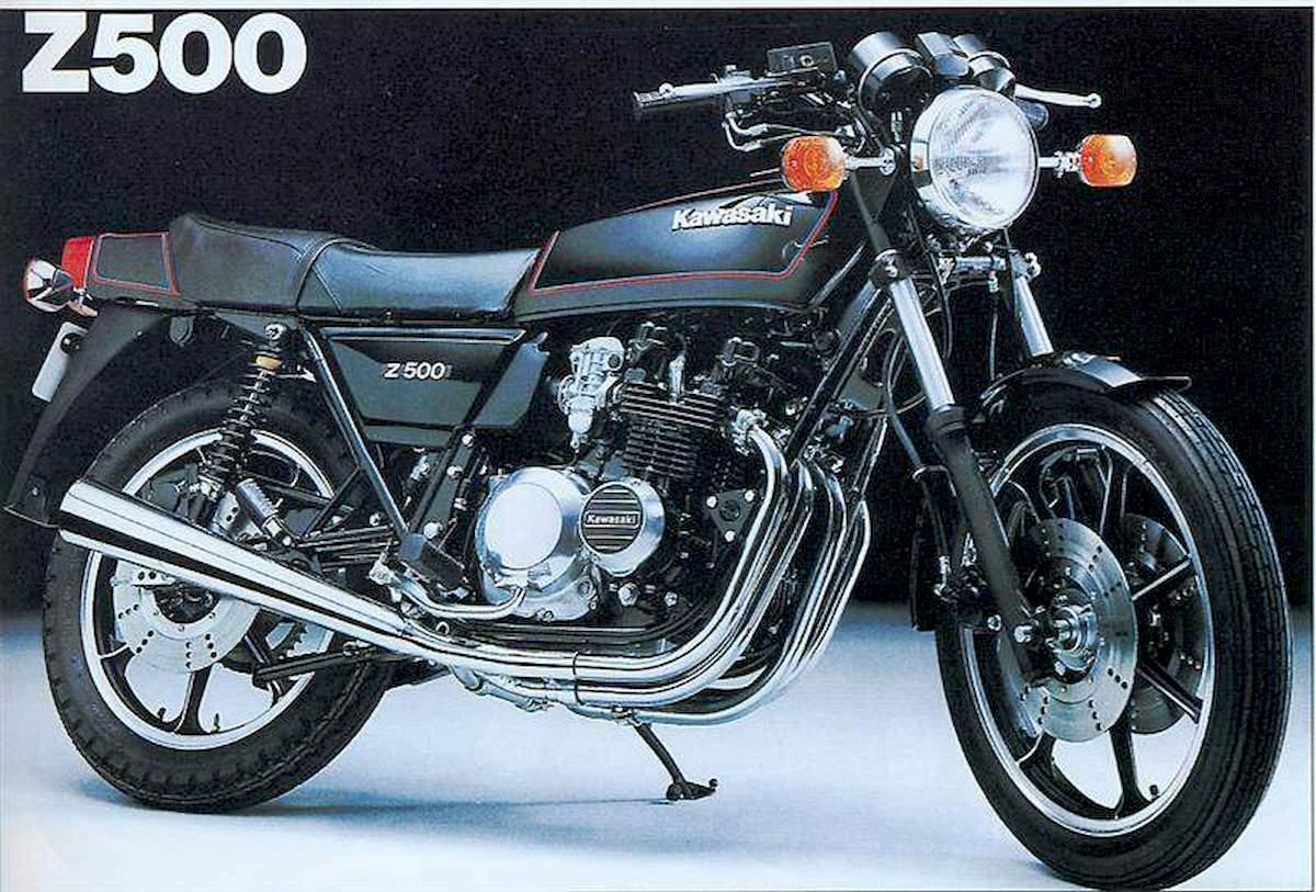 Image of KAWASAKI Z 500