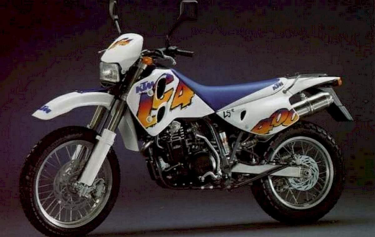Image of KTM 400 LC4