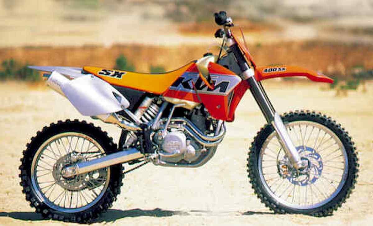 Image of KTM 400 SX