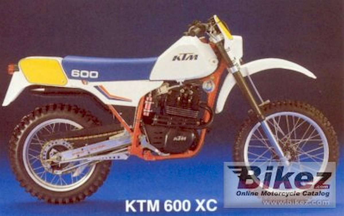 Image of KTM 600 XC
