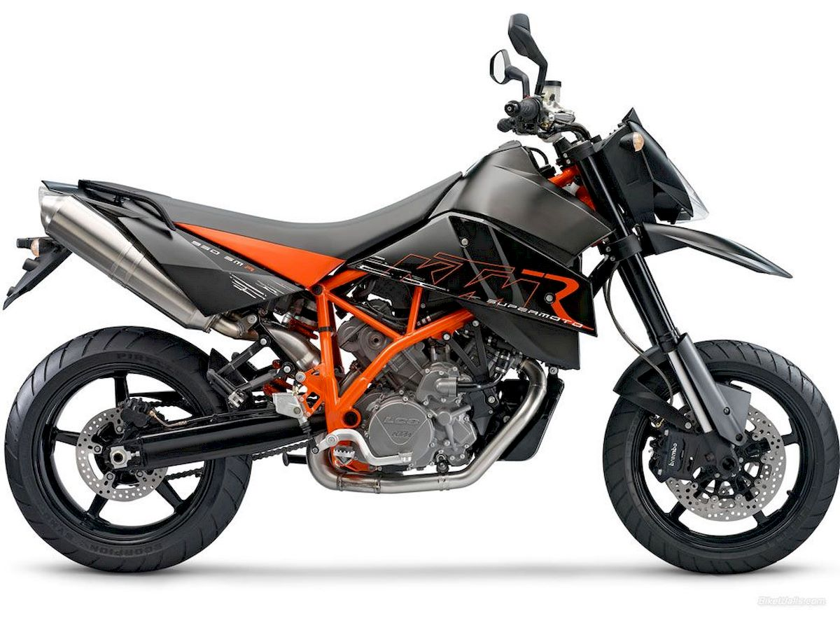 Image of KTM 950 SUPERMOTO