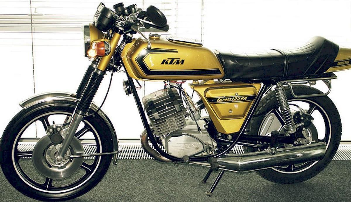 Image of KTM COMET GRAND PRIX 125 RS