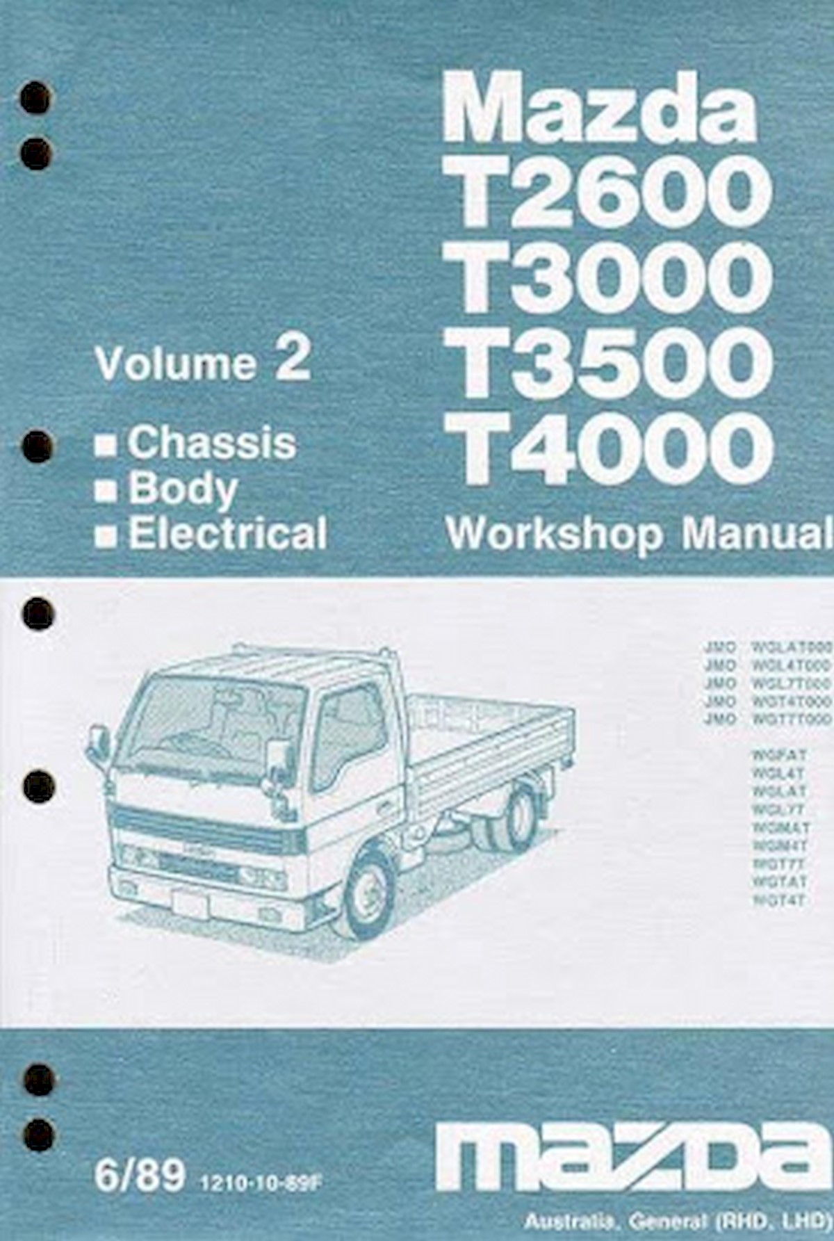 Image of MAZDA T-SERIES-T-2500-T-3500