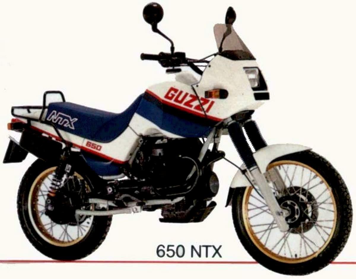 Image of MOTO GUZZI NTX 650