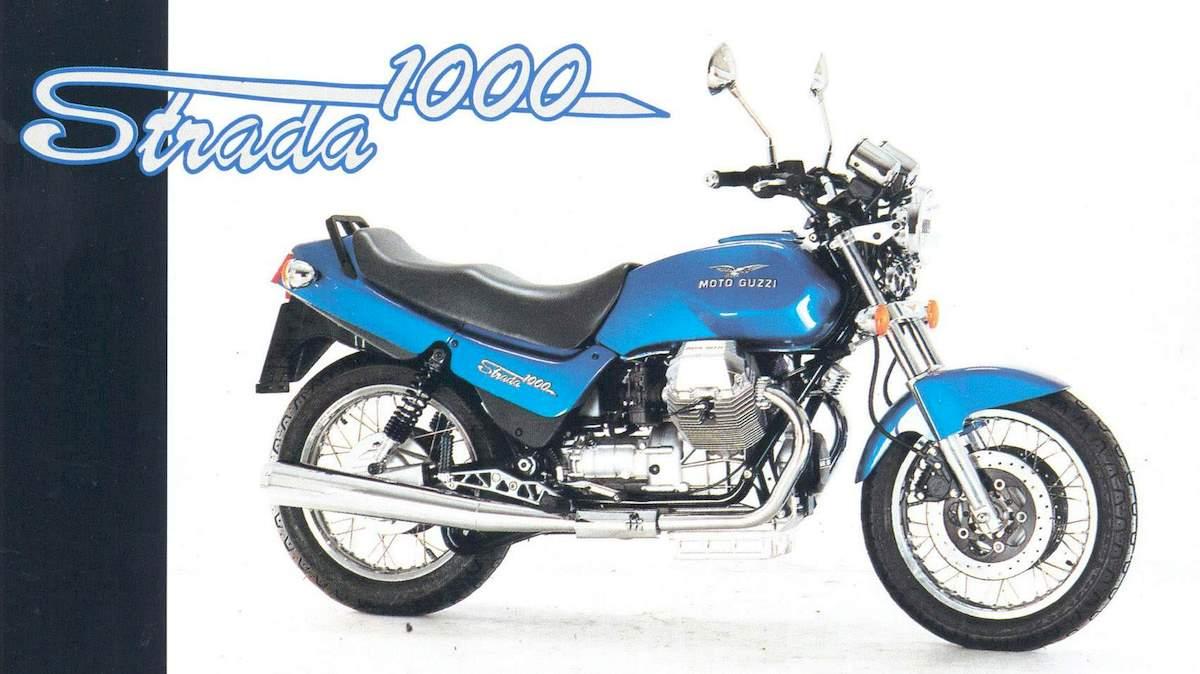 Image of MOTO GUZZI STRADA 1000