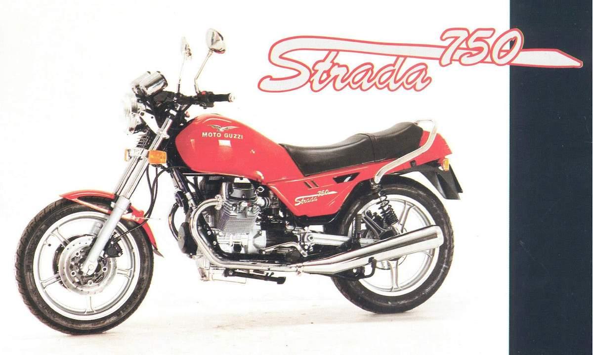 Image of MOTO GUZZI STRADA 750