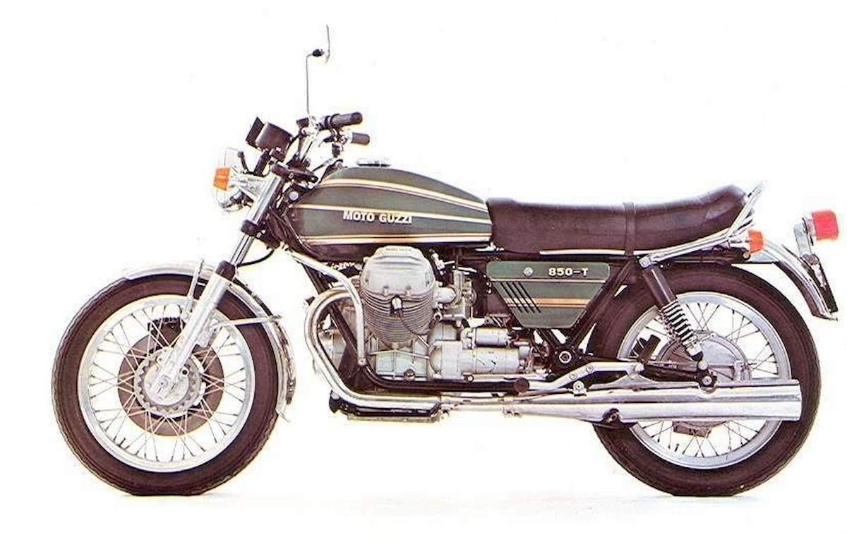 Image of MOTO GUZZI T 850