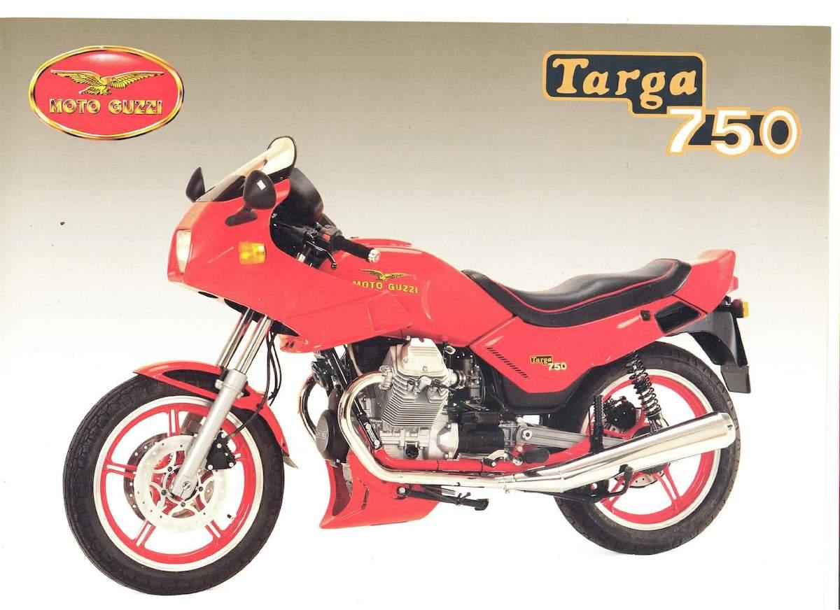 Image of MOTO GUZZI TARGA 750