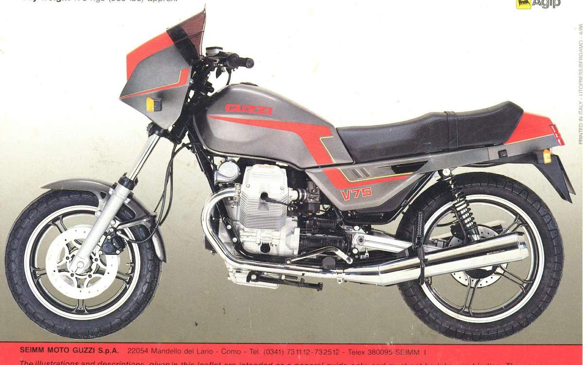 Image of MOTO GUZZI V75