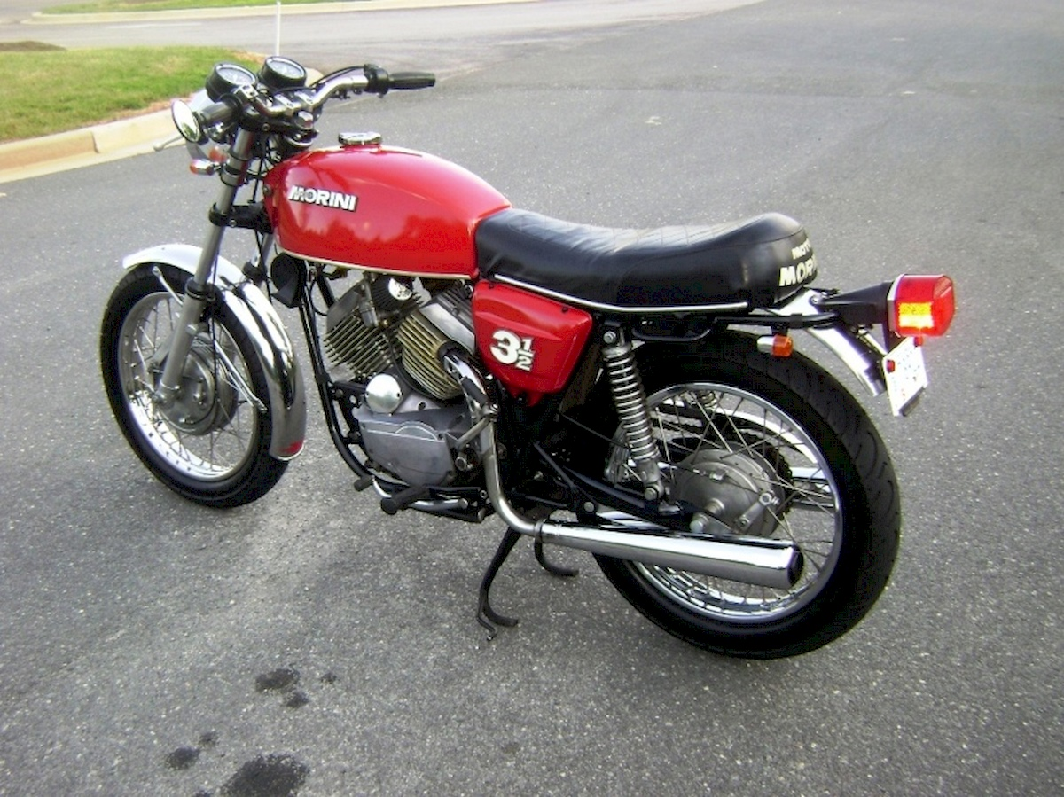 Image of MOTO MORINI 3 1-2 VS