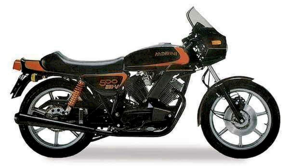 Image of MOTO MORINI 500 SEI-V