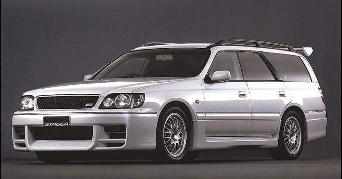Image of NISSAN STAGEA