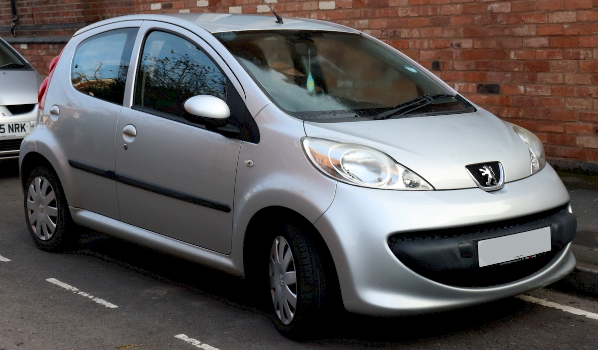 Image of PEUGEOT 107