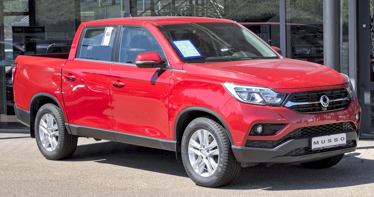 Image of SSANGYONG MUSSO
