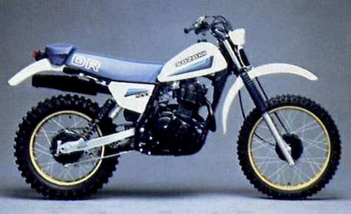 Image of SUZUKI DR 500 S