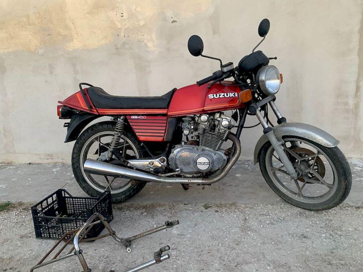 Image of SUZUKI GS 450