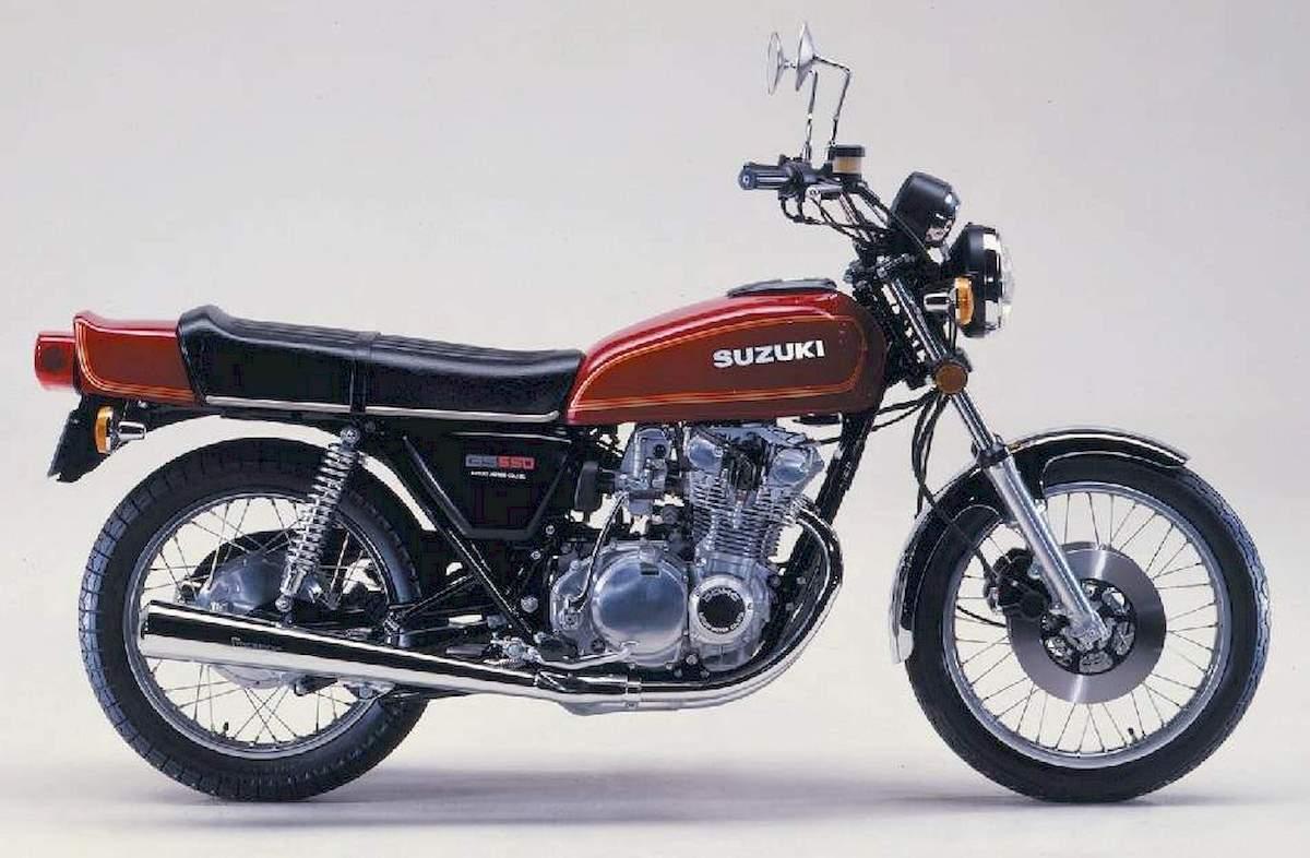 Image of SUZUKI GS 550