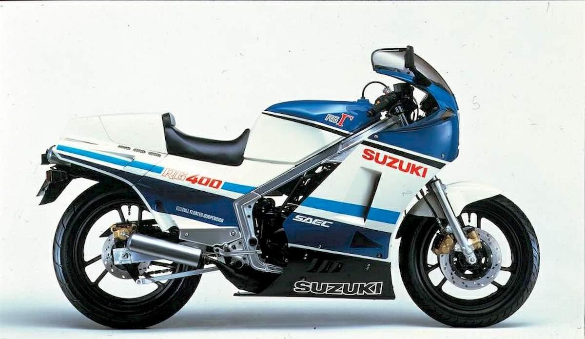 Image of SUZUKI RG 400