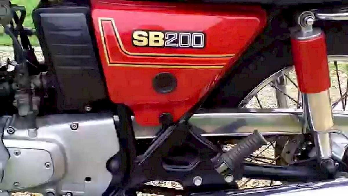 Image of SUZUKI SB 200