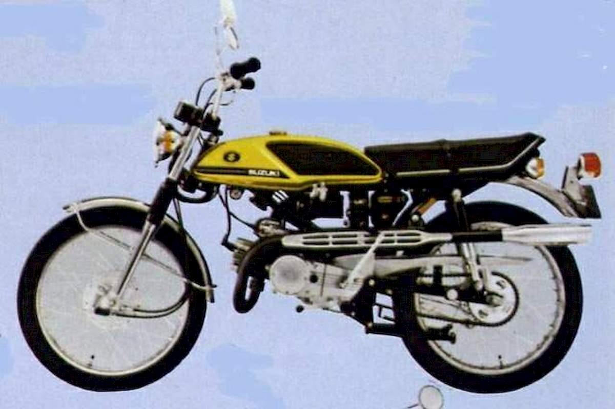 Image of SUZUKI T 125