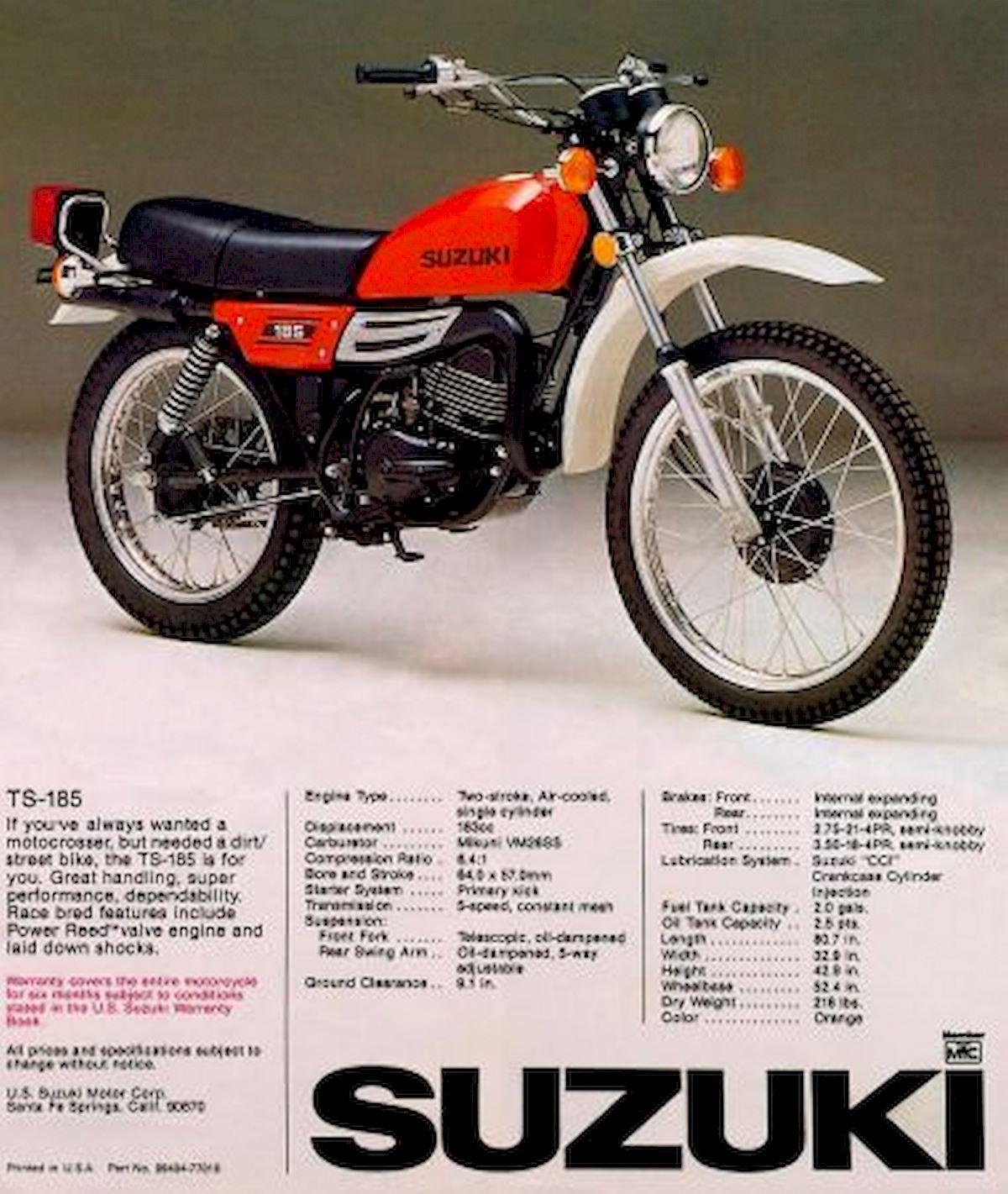 Image of SUZUKI TS 185