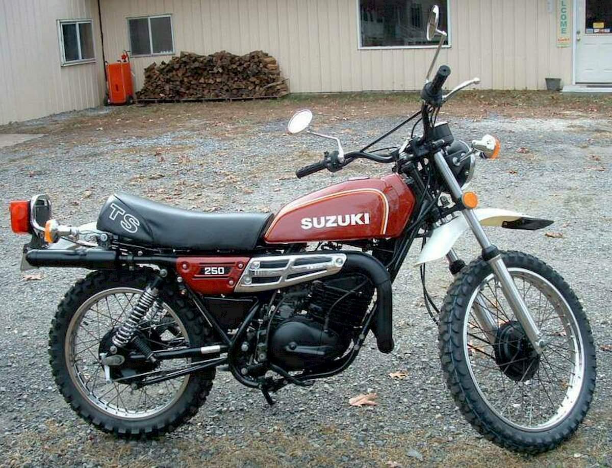 Image of SUZUKI TS 250