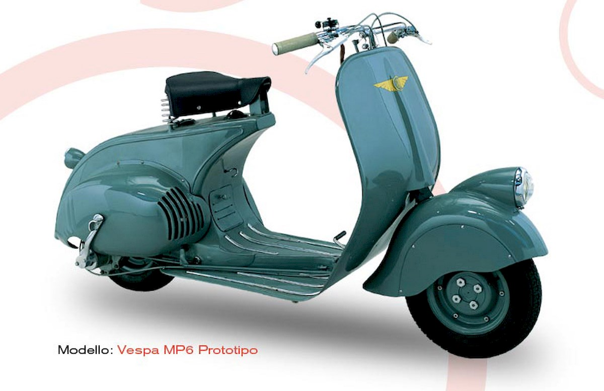 Image of VESPA MP6